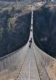 Kusama-gayadi bridge, Nepal